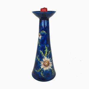 Großer Mid-Century Keramik Kerzenständer von Hindelanger, 1970er
