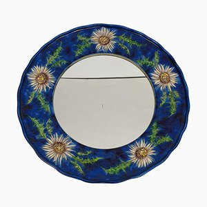 Mid-Century Ceramic Mirror from Hindelanger, 1970s