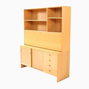 Mid-Century Modern Oak Ry-100 Bookcase by Hans J. Wegner for Ry Mobler, 1974