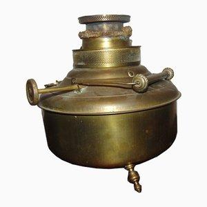 Pre-War Brass Oil Stove Valor