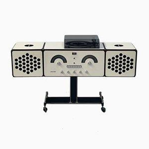 Radio Rr126 et Tourne-Disque Vintage par Castiglioni & Giacomo pour Brionvega, 1960s