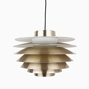 Danish Verona Pendant Lamp by Svend Middelboe for Nordic Solar, 1960s