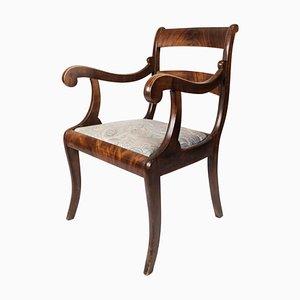 Empire Antique Armchair of Mahogany, 1840s