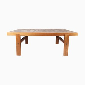 Coffee Table in Teak with Tiles of Danish Design, 1960s