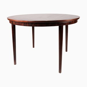 Danish Round Dining Table in Rosewood, 1960s