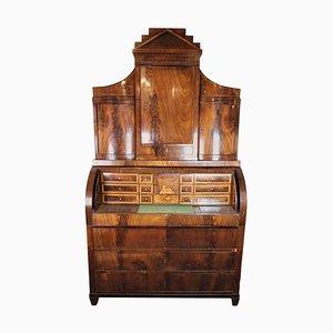 Large Empire Bureau of Hand Polished Mahogany, 1820s
