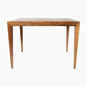 Rosewood Side Table by Severin Hansen for Haslev Furniture, 1960s