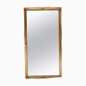 Spiegel mit vergoldetem Rahmen, 1960er