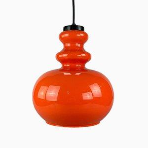 Glass Hanging Lamp, 1960s