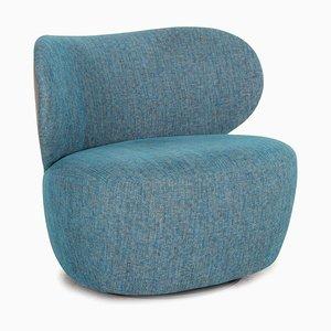 Boa Blue Armchair from Walter Knoll / Wilhelm Knoll
