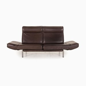 DS 450 Dark Brown Leather Sofa from de Sede