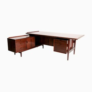 Palisander Schreibtisch von Arne Vodder für Sibast Mobler