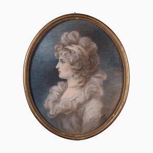 Weibliche Portrait Leinwand