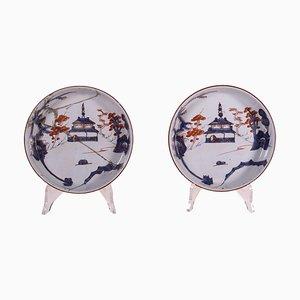 Majolica Ceramic Bowls, Set of 2