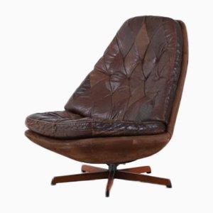Vintage MS68 Swivel Lounge Chair from Madsen & Schubel, Denmark