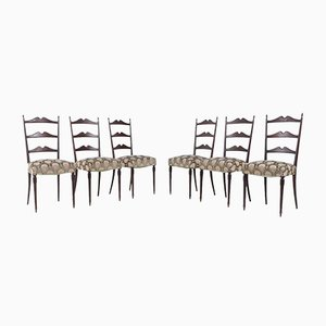 Mid-Century Italian Chairs by Paolo Buffa, 1950s, Set of 6