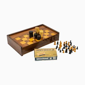Chess & Backgammon Board, 20th Century