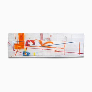 lic: Orange, Dessin Abstrait, 2015