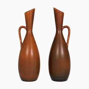 Mid-Century Vases by Carl-Harry Stålhane for Rörstrand, Sweden, 1950s, Set of 2