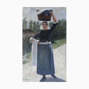 Marguerita Pillini, Lavandière Bretonne, 1912
