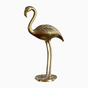Große Mid-Century Messing Flamingo Dekoration von Dieter Rams