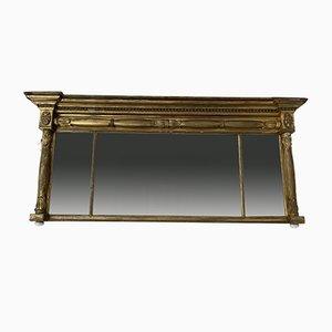 Antiker georgianischer vergoldeter Gesso Spiegel mit Original Mercury Plate