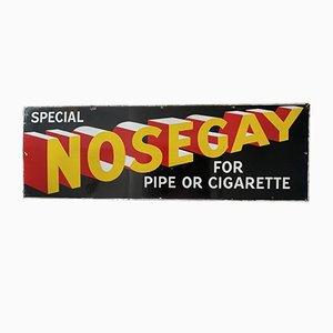 Antique Enamel Nosegay Sign