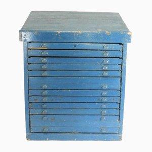 Antique Lettering Cabinet