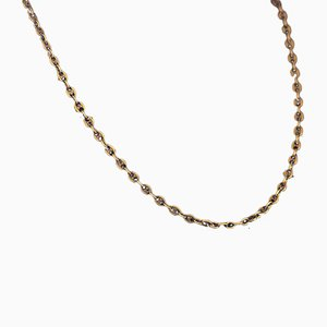 Marine Necklace in 18K Gold, 1960s