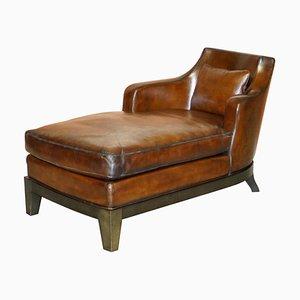 Italienischer Gioconda Sessel aus Braunem Leder von Promemoria