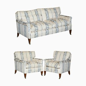 English Country House Living Room Set, Set of 3