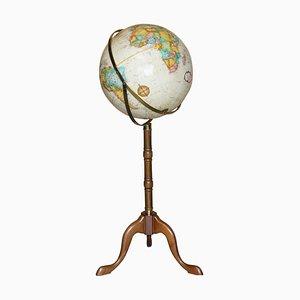 Vintage Floor Standing Globe
