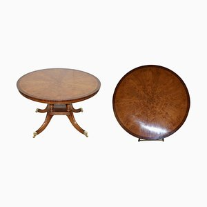 Round Cluster Pollard Oak Dining Table from Bevan Funnell Ltd.