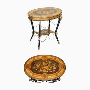 Antique French Gilt Bronze Occasional Table from Auguste Maximilien Delafontaine