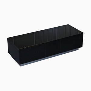 Black Glass BS EN 12150-1 TV Stand from Alphason