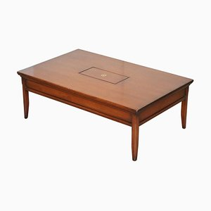 Hardwood Military Campaign Coffee Table with Internal Storage by Kennedy for Harrods