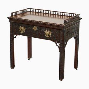 Scrivania da architetto Giorgio III in legno massiccio di Thomas Chippendale