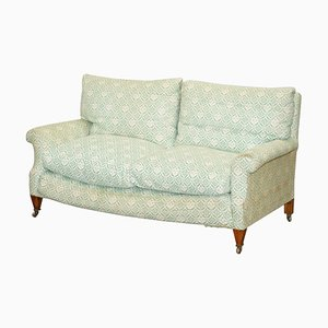 Ticking Fabric Lenygon & Morant Sofa from Howard & Sons, 1920s