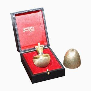 Silver Jubilee Surprise Egg in Solid Sterling Silver & Gilt by Stuart Devlin, 1977