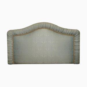 Paisley Silk Upholstered Padded King Size Headboard