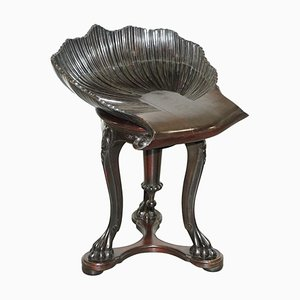 Italian Venetian Stool, 1880s