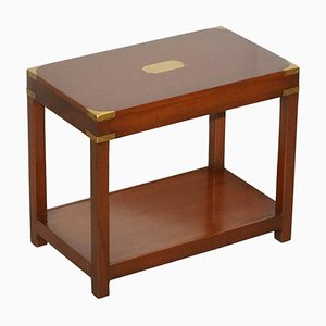 Vintage Mahogany High Coffee Table from Harrods London