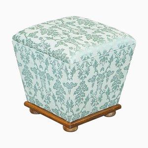Silk Victorian Style Footstool