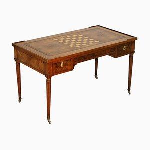 18th Century Walnut Game Table