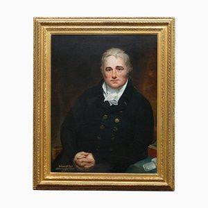 Sir William Beechey, Peinture à l'Huile de Robert 4e Comte de Buckinghamshire, 1814