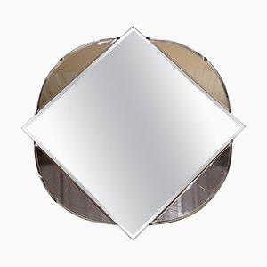 French Art Deco Beveled Mirror