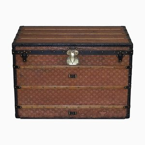Extra Large Malle Haute Steamer Trunk from Louis Vuitton, Paris, 1900
