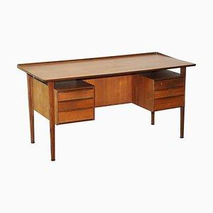 Danish Teak Desk by Peter Lovig Nielsen for Hedensted Mobelfabrik, 1961