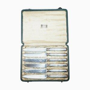 Sterling Silver Dessert Knives, 1929, Set of 6