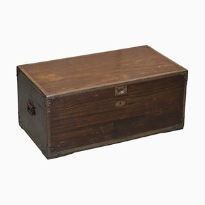 Anglo-Indian Military Campaign Chest or Trunk, 1880s